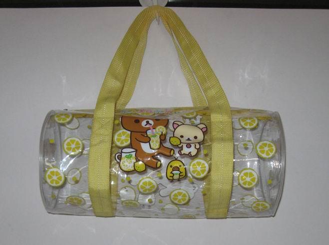 RK柠檬黄圆桶包