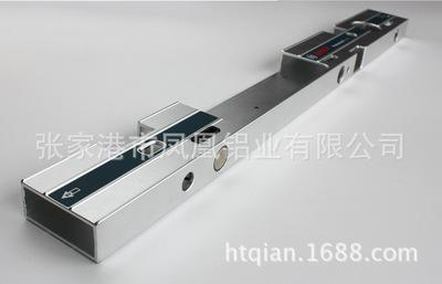 厂家直销各种异形散热器铝材可打孔(可定制加工)