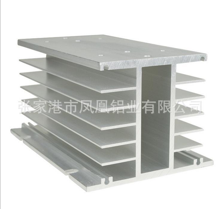 可定制加工各种高难度散热器三相固态继电器散热器