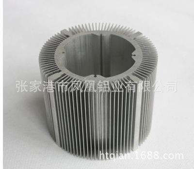 太阳花散热器铝型材高难度散热器 厂家直销 可定制加工