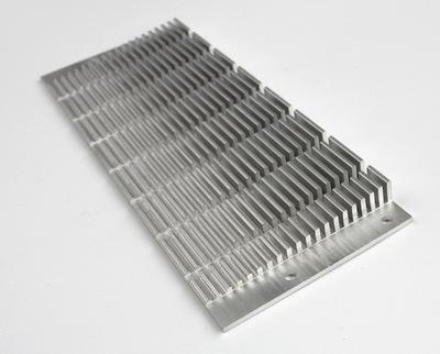 铝合金散热器 铝合金散热片 厂家直销 剖割好