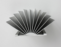 扇形散热器