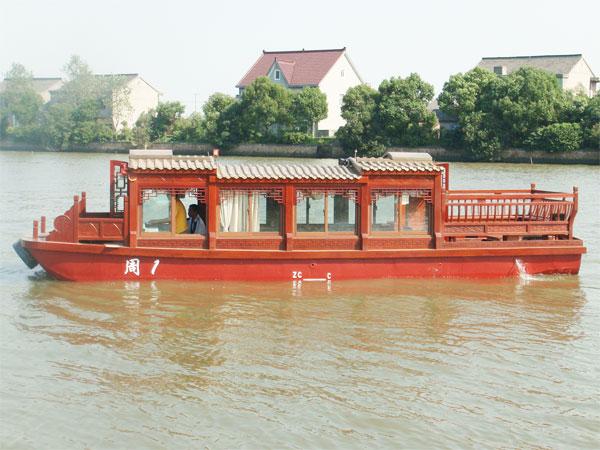 10米畫舫船