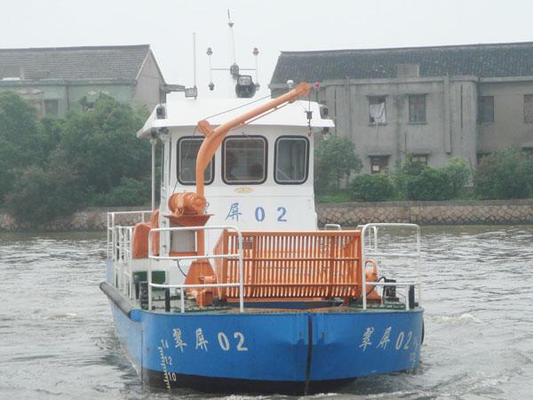 12.8米水質凈化船天津