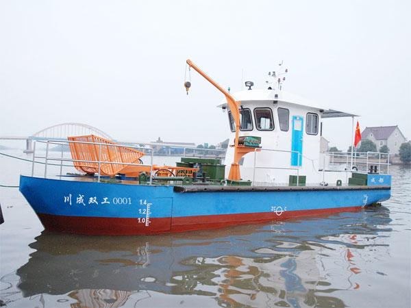 12.8米水質凈化船成都