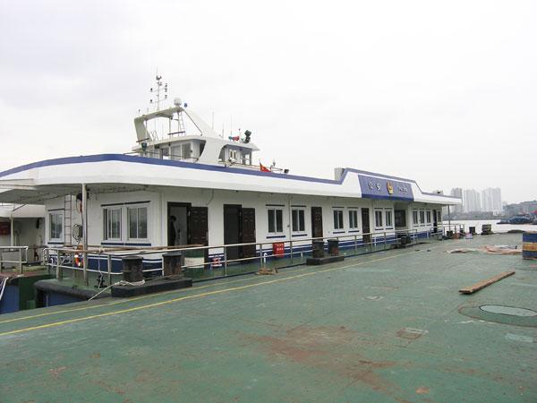 36米公安躉船