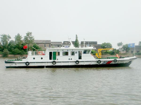 28米多功能油污水收集船