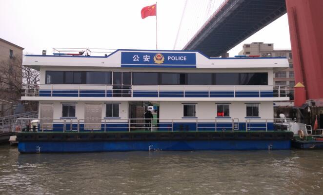 21米公安躉船