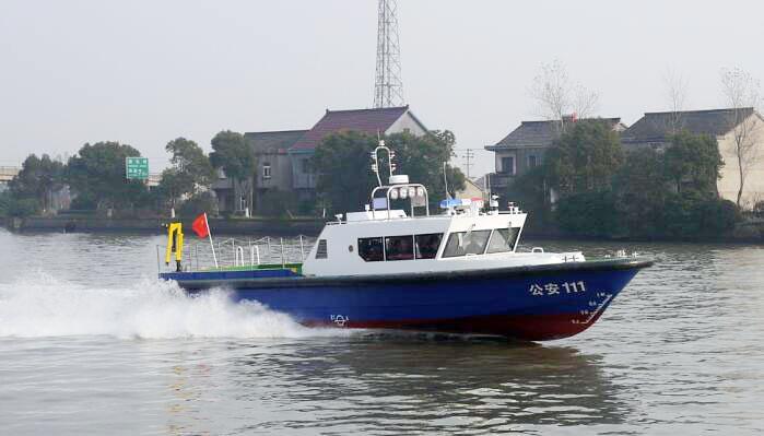 15米全鋁合金突擊艇