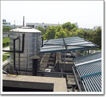 虹桥机场太阳能热水工程(案例)