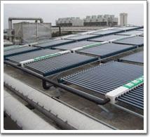 浦东国际机场太阳能热水工程(案例)