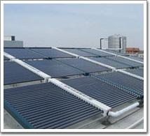 川沙镇工业圆区太阳能热水工程(案例)