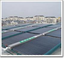 南汇区大学城太阳能热水工程(案例)