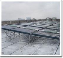 朱泾天野电子有限公司太阳能热水工程(案例)