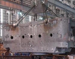 16500吨油压机上樑