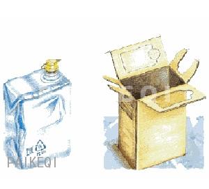 塑料木酒桶图片