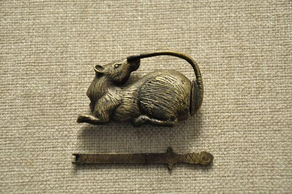 花旗锁-鼠形锁