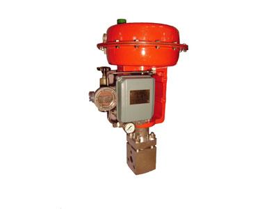 X A/B K-160/320 气动多级式高压角形调节阀