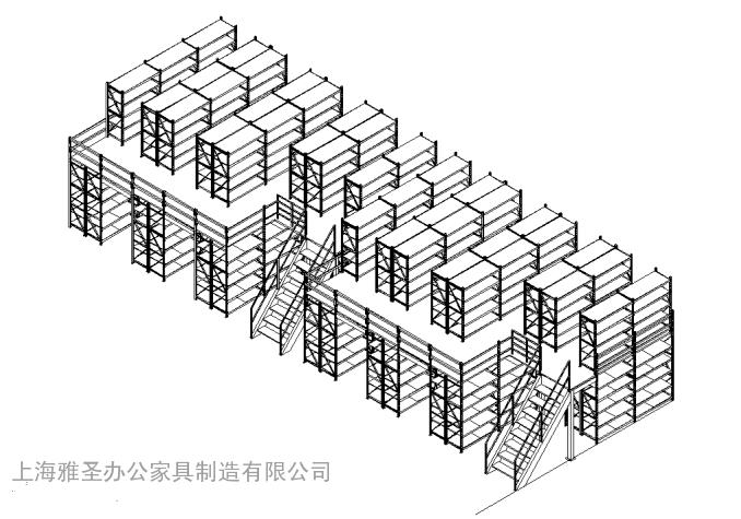 沪东船厂厂房货架