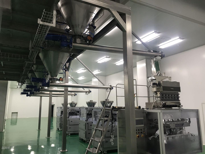 包装和粉体输送生产线