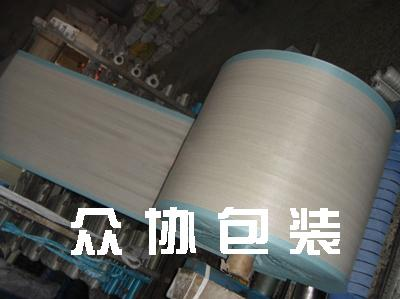 新料编织布筒料