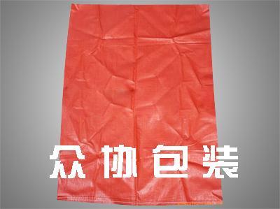 橘红色编织布