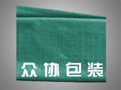 绿色编织布