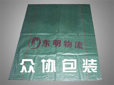 绿色回料印刷编织袋
