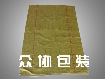 黄色回料不覆膜编织袋