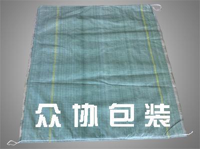绿色穿绳编织袋