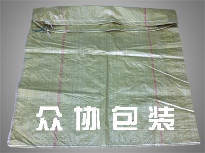 黄色回料穿绳编织袋