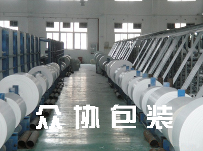 白色新料编织布筒料