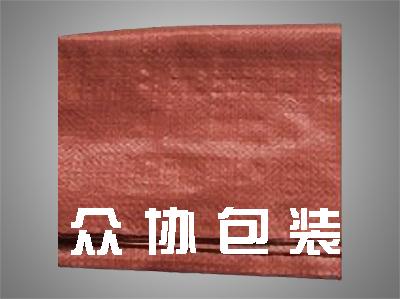 红色编织布
