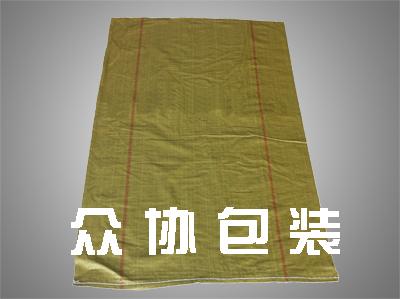 黄色回料不涂膜编织袋