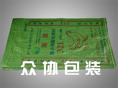 草绿色印刷编织袋