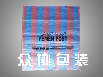 彩纹编织袋