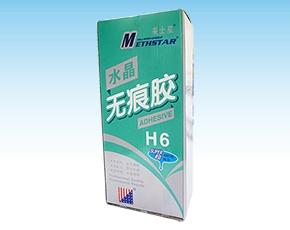 美士星H6水晶型无痕胶2kg(盒装)