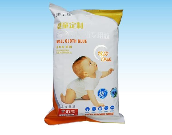美士星E6婴童壁纸壁布胶2KG(袋装)