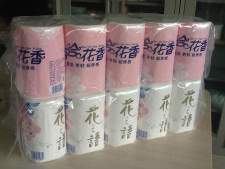 卷筒紙-百合花香