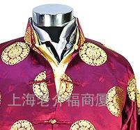 《福》牌中式男士寿衣超高档款