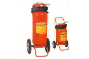 dry chemical wheeled fire extinguisher