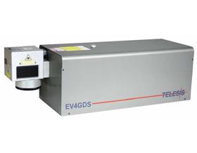 EVG4光纤连接端diode-pumped固态绿色激光打标系统(4w)