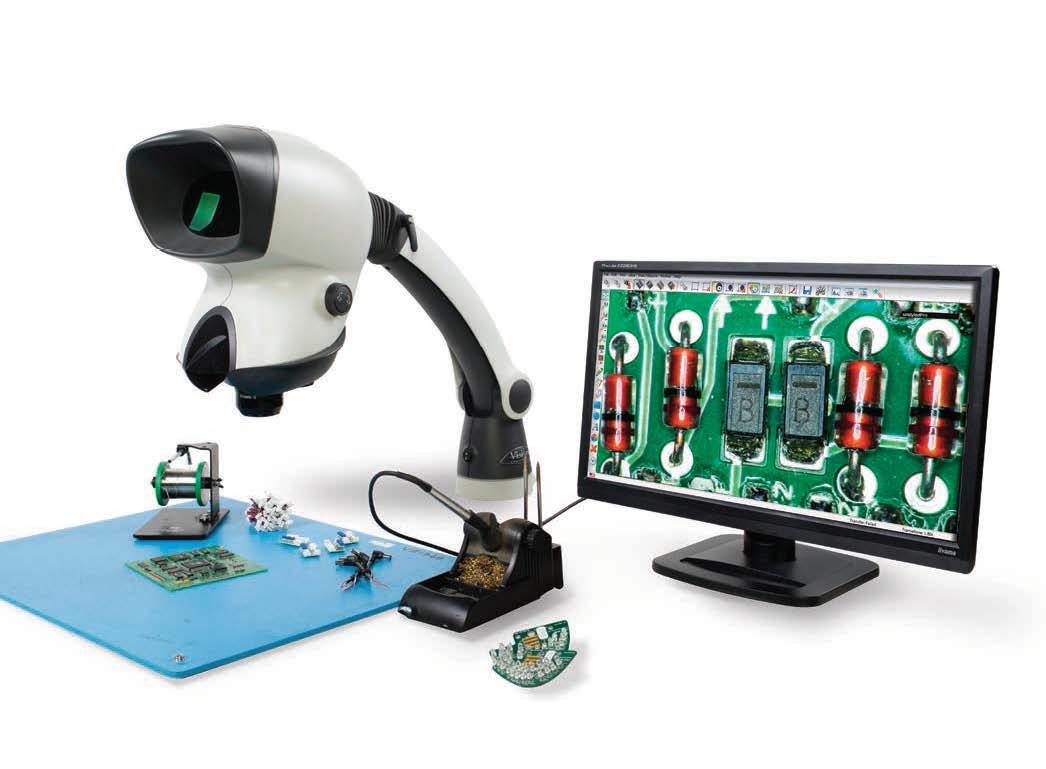 高清图像捕捉光学放大镜Mantis Elite-Cam HD