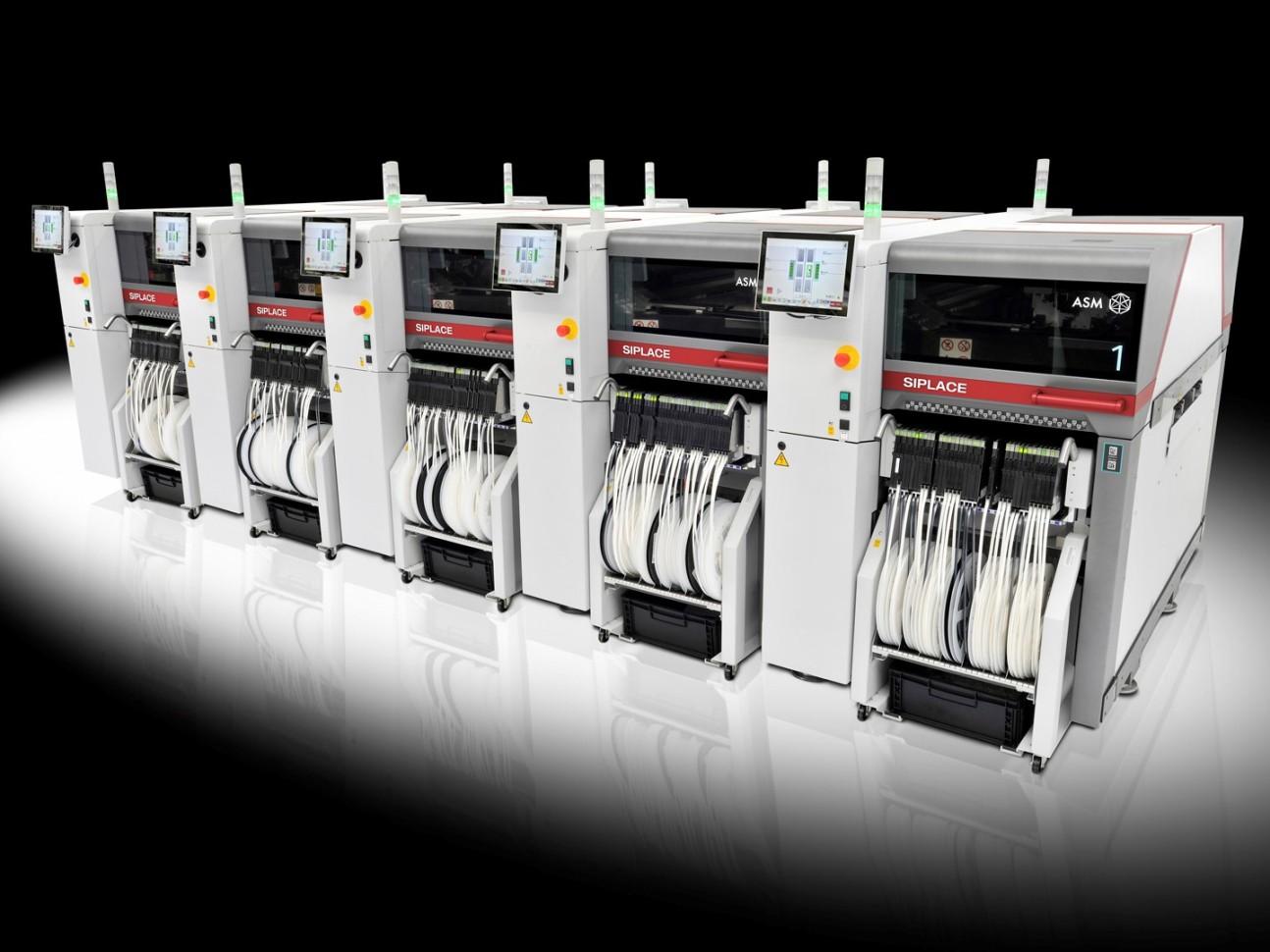 SIPLACE TX系列: 更快、更小、更先进——新型高端贴装解决方案