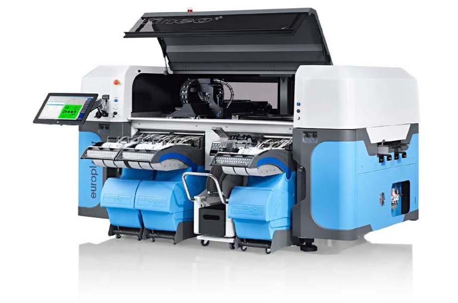 大上料容量、大尺寸多功能智能贴片机iineo+
