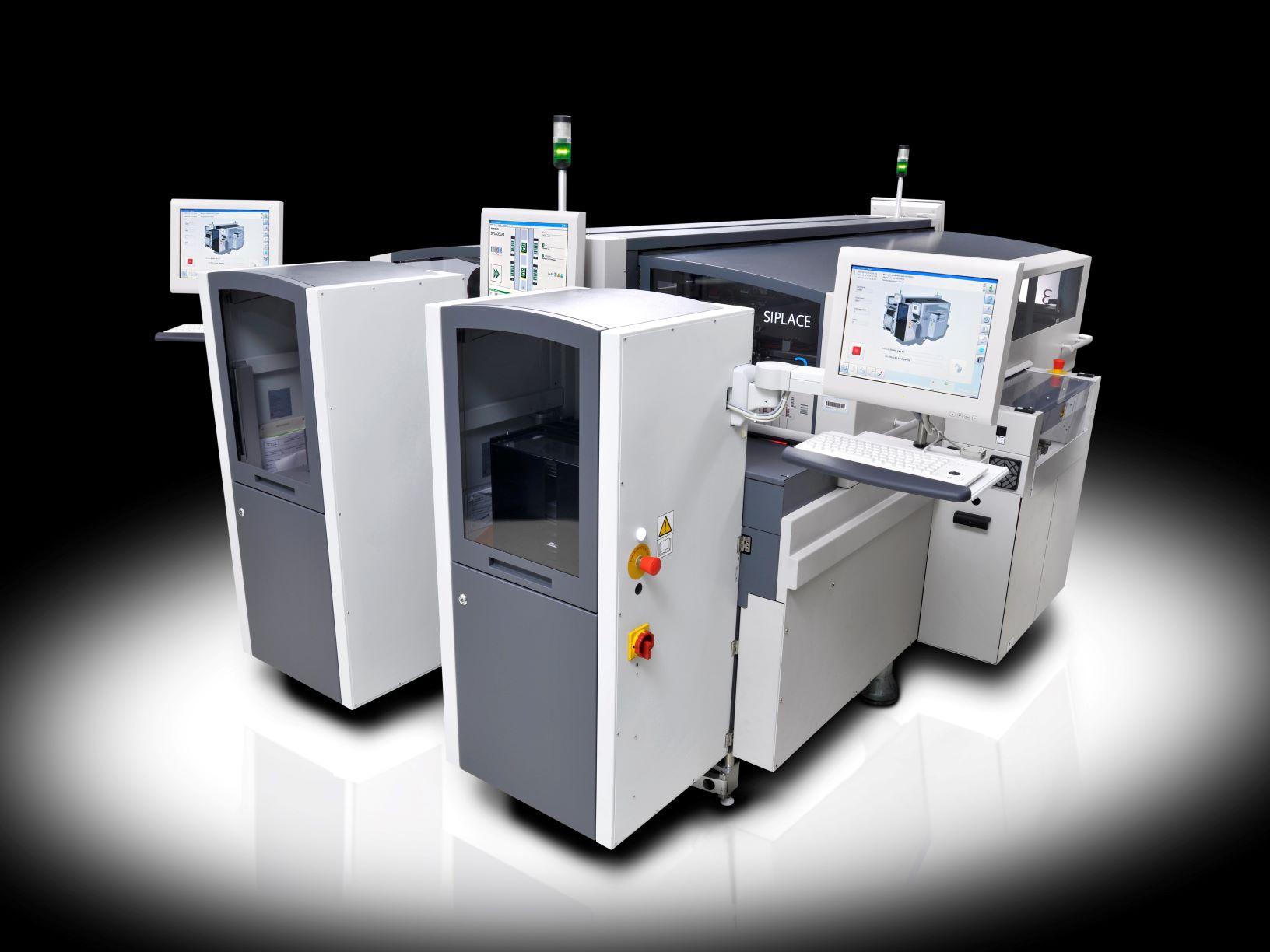 SIPLACE CA-倒装芯片(FC)和芯片(DA)贴装