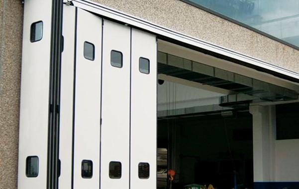 折叠门组成与结构图说明