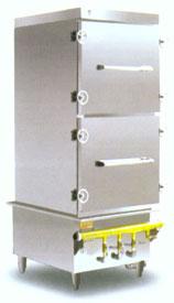双门燃气食品蒸饭箱