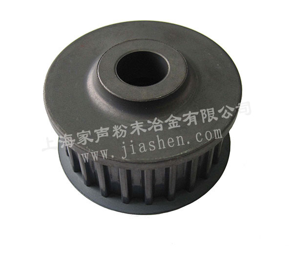 The water pump belt wheel