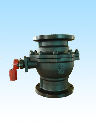 API 607 ball valve with mounting pad